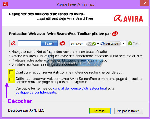 tutoriel antivir avira free antivirus installation configuration analyse tutoriels. Black Bedroom Furniture Sets. Home Design Ideas